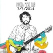 7. 5. 2014 - Tim Kasher (USA), Black Tar Jesus - Plzeň - Pohoda Music Club