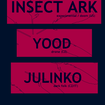 8. 11. 2015 - Insect Ark (USA), Julinko (IT), Yood - Brno - Bajkazyl