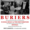 15. 4. 2016 - Buriers (UK), Holy Fanda & The Reverends, Stinka - Soulkostel u Vernéřovické studánky