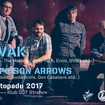 14. 11. 2017 - Savak (USA), The Poison Arrows (USA) - Praha - 007 Strahov
