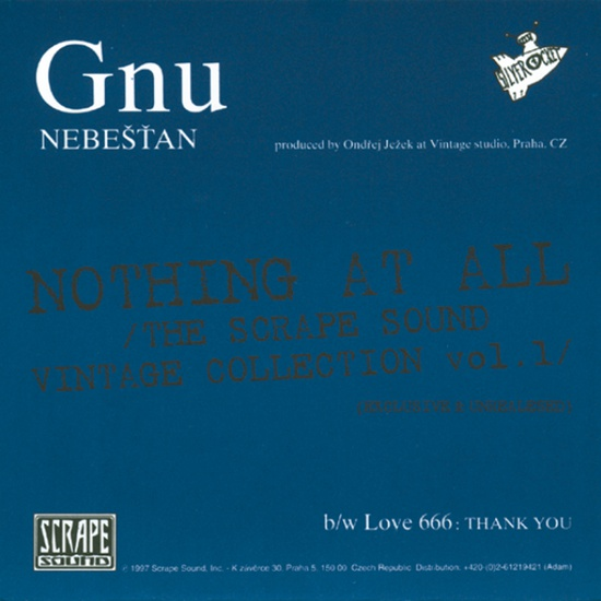 Gnu / LOVE 666 – Nebešťan / Thank You