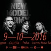 9. 10. 2016 - New Model Army (UK), Calvera - Praha - Lucerna Music Bar