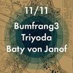 11. 11. 2017 - Bumfrang3, Triyoda, Baty von Janof - Most - V+V Rock bar