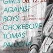 8. 12. 2013 - Girls Against Boys (USA), Chokebore (USA), Tomáš Palucha - Praha - Lucerna Music Bar